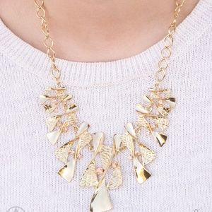 The Sands of Time - Gold Necklace Set